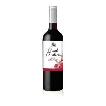 Vīns Grand Cavalier Tempranillo semi sweet s. 12% 0.75l