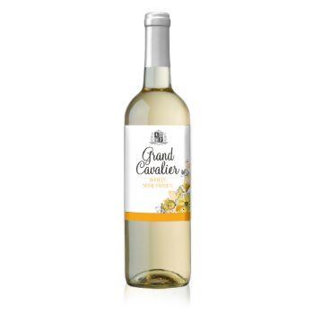 Vīns Grand Cavalier Viura semi sweet b. 11% 0.75l