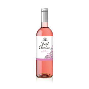 Vīns Grand Cavalier Tempranillo semi sweet r. 12% 0.75l