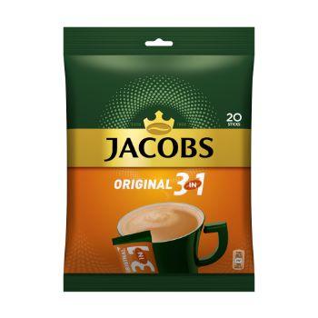 Kafija šķīstošā Jacobs 3in1 maiss 20*15.2g