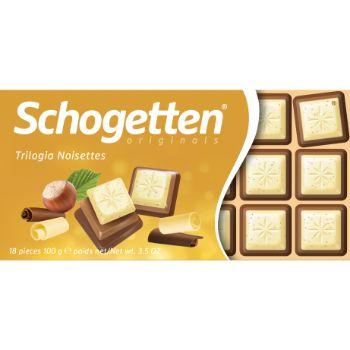 Šokolāde Schogetten trilogia 100g