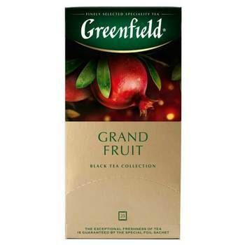 Tēja Greenfield zaļā Grand Fruit 25gbx1.5g