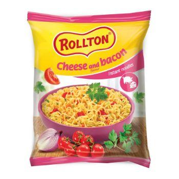 Nūdeles Rollton ātrai pagat. siera-bekona 60g