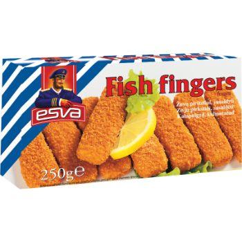 Zivju pirkstiņi Esva 250g
