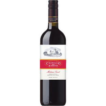 Vīns Castillo del Baron sark. 10% 0.75l pussalds