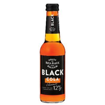 Alk.kokt. Black Balsam Cola 12% 0.25l
