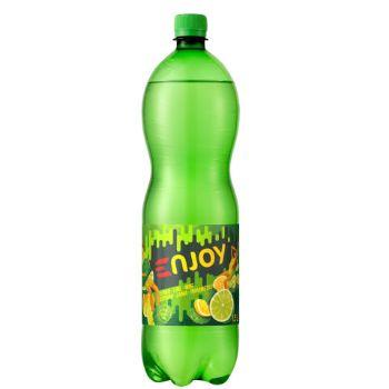 Dzēriens Enjoi citronu-laima-piparmētra 1.5l