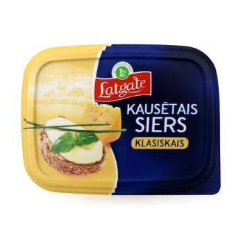 Kausētais siers klasiskais Latgales piens 170g