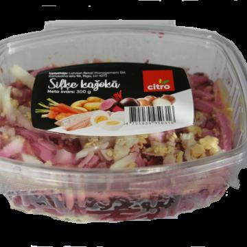 Salāti siļķe kažokā Citro 300g