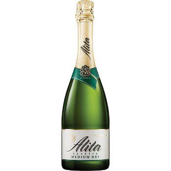 Dzirkstošais vīns Alita pussauss 11% 0.75l