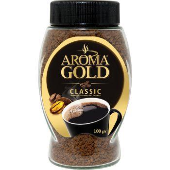 Kafija šķīstošā Aroma Gold Classic 100g
