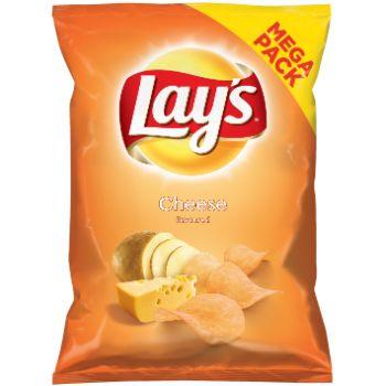 Čipsi Lays siers 215g