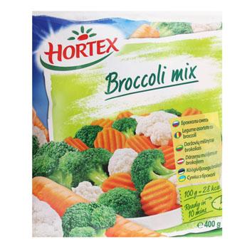 Maisījums ar brokoļiem Hortex 400g