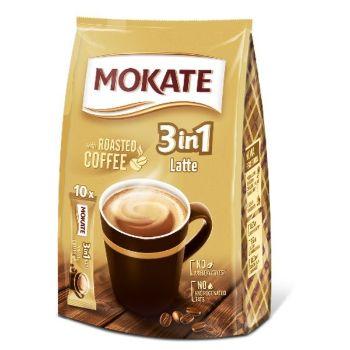 Kafija dzēriens Mokate 3 ini 1 Latte 15gx10