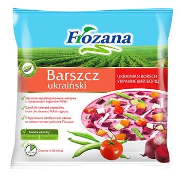 Zupa Ukraiņu boršcs Frozana 450g