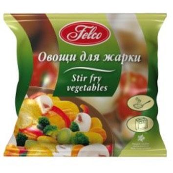 Saldēti dārzeņi Felco ar kartupeļiem un šampinjoniem 400g