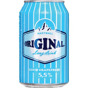 Alk.kokt. Hartwall original long drink 5.5% 0.33l