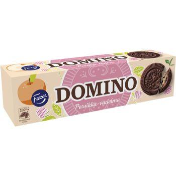 Cepumi Domino ar persiku aveņu garšu 175g