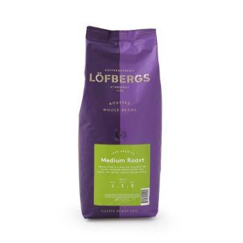 Kafijas pupiņas Lofbergs Medium Roast 1kg