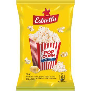 Popkorns Estrella ar sviesta garšu 90g