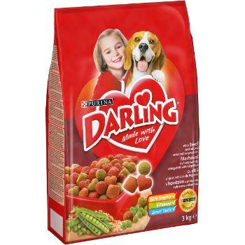 Barība suņiem Darling gaļa