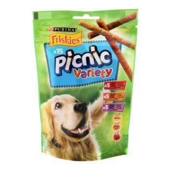 Gardums suņiem Friskies Picnic dažādas garšas 126g