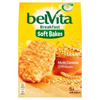 Cepumi Belvita Soft Bakes Multi Cereals 250g