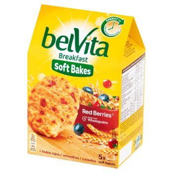 Cepumi Belvita Soft bakes Red Berries 250g