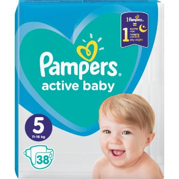 Autiņbiksītes Pampers Active Baby S5 38gb VPM
