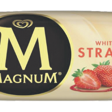 Saldējums Magnum Strawberry White 110ml/90g
