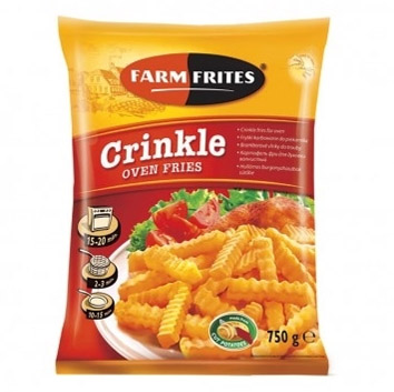 Kartupeļi frī rievoti Farm Frites 750g