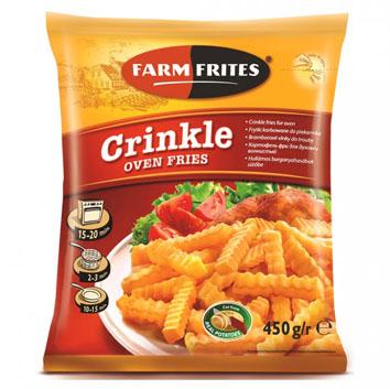 Kartupeļi frī rievoti Farm Frites 450g