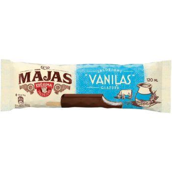 Saldējums Mājas vaniļas uz kociņa 120ml/75g
