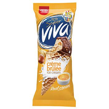 Saldējums Super Viva Crem Brule 180ml/104