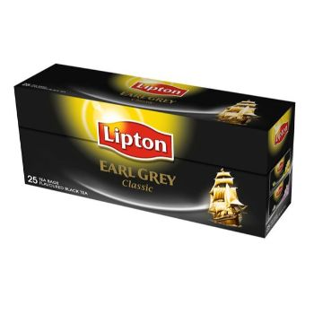 Tēja Lipton earl grey classic 25gb 40g