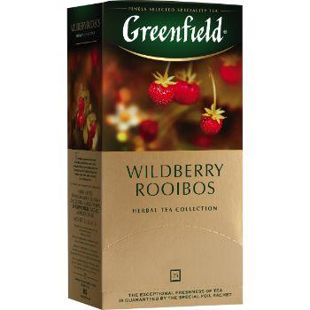 Tēja Greenfield zaļā Wildberry Rooibos 25gbx1.5g