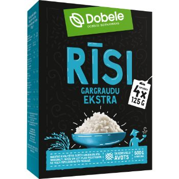 Rīsi Dobele gargraudu kastīte 4x125g