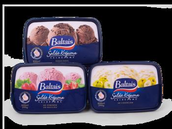 Saldējums vaniļas kējuma ar zem. un baziliku Baltais  800ml/