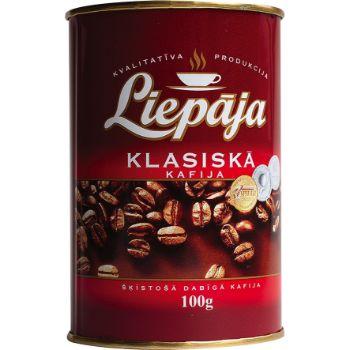 Kafija šķīstošā Liepājas Classic 100g