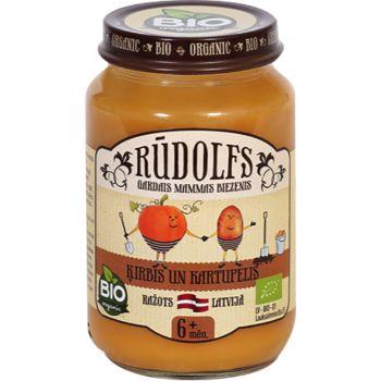 Biezenis Rūdolfs ķirbis ar kartupeļiem 190g
