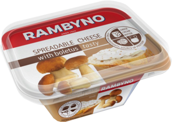 Kausētais siers Rambyno ar baravikām175g