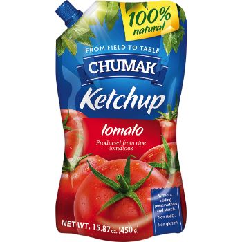 Kečups tomātu Chumak 450g