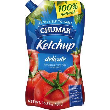 Kečups Chumak maigais  450g