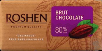 Šokolāde rūgtā kakao 80% Roshen 90g