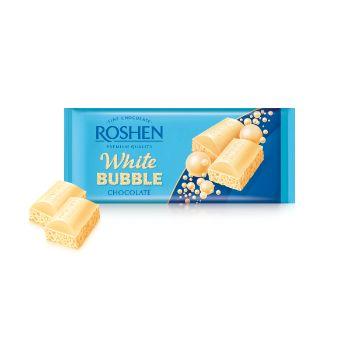 Šokolāde porainā baltā Roshen 80g