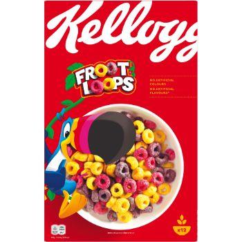 Sausās brokastis Kellogs Froot Loops 375g