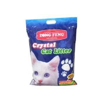 Smiltis kaķiem silikona Crystal Cat Litter 3.8L
