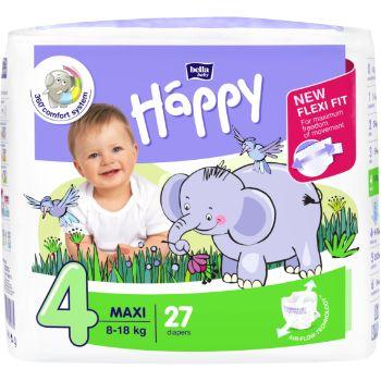 Autiņbiksītes Happy Maxi 8-18kg 27gb