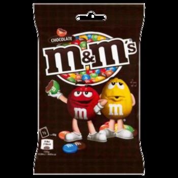 Konfektes fas.M&M  chocolate 90g