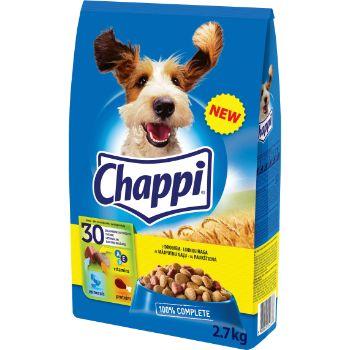 Barība suņiem Chappi ar mājputnu gaļu 2